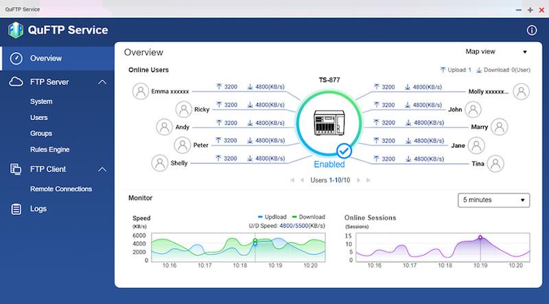 QuFTP - QNAP QTS 5.0 RC veröffentlicht