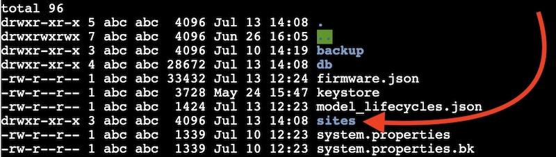 Standard-Site-Unifi - UniFi: Problem mit Site_ID