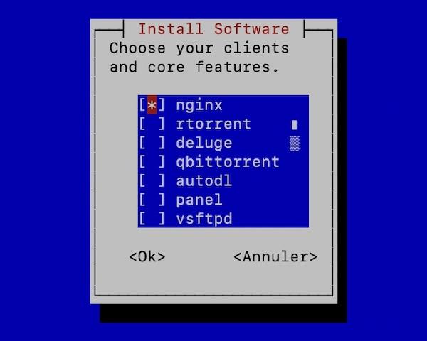 swizzin core - Erstellen Sie Ihre Seedbox in 20 Minuten mit Swizzin (Kimsufi, VPS ...)