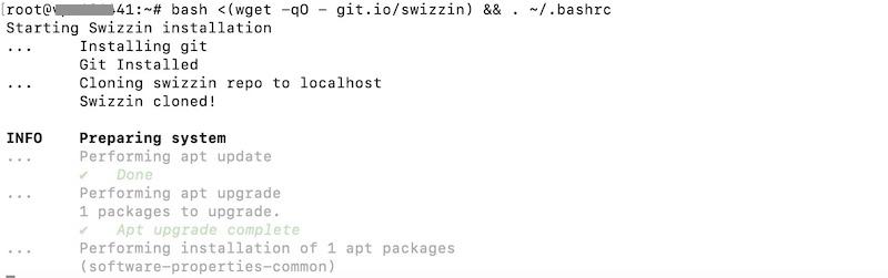 install swizzin command - Erstellen Sie Ihre Seedbox in 20 Minuten mit Swizzin (Kimsufi, VPS ...)