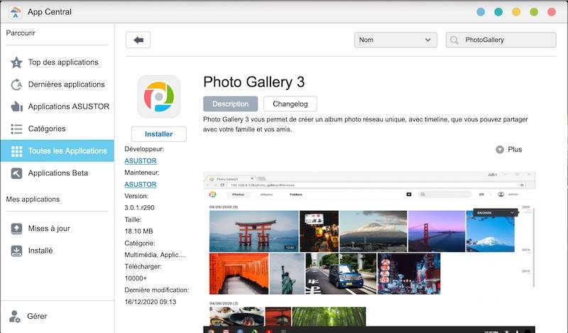 asustor Fotogalerie 3 - Alternativen zu Google Fotos mit einem Asustor NAS
