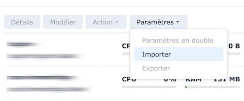 Docker importieren - Vaultwarden ersetzt Bitwarden_RS (Docker / Synology)