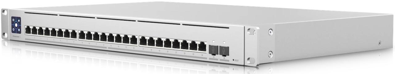 UNIFI USW EnterpriseXG 24 - Ubiquiti UniFi Enterprise XG 24: 10-GbE-RJ45- und 25-GbE-SFP-Switch mit 24 Ports