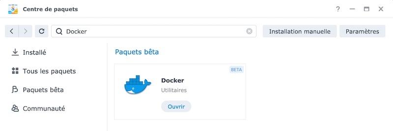 Docker Package Center – Synology NAS – Huginn mit Docker installieren