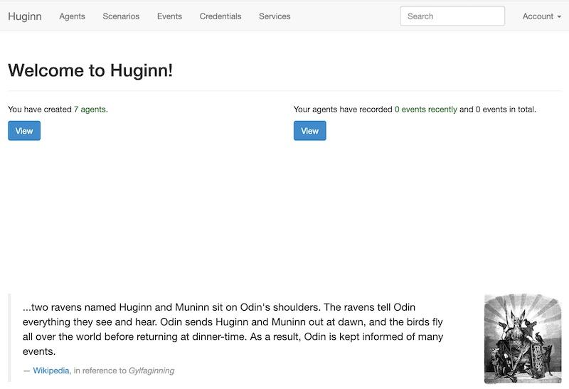 Huginn verbindet Synology - Synology NAS - Huginn mit Docker installieren