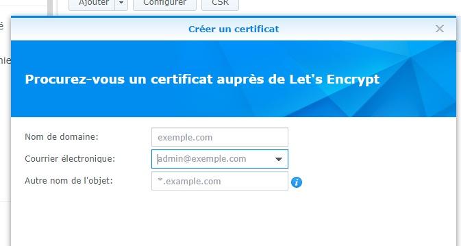 lässt Zertifikate verschlüsseln - Synology NAS: Domain, Subdomain, Reverse-Proxy und HTTPS