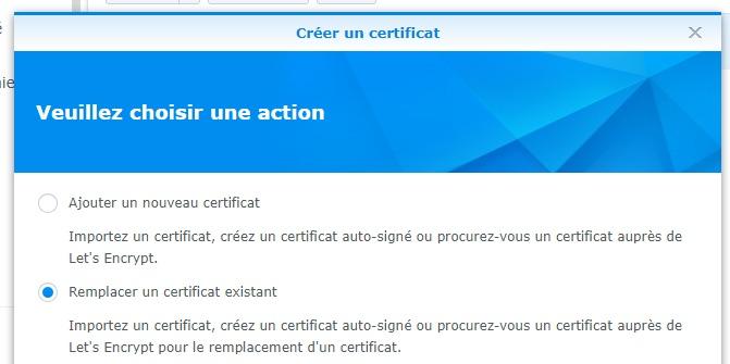 Zertifikat ersetzen - Synology NAS: Domain, Subdomain, Reverse-Proxy und HTTPS