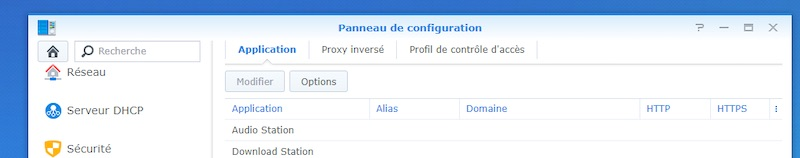 Synology Reverse-Proxy-Anwendungen - Synology NAS: Domain, Subdomain, Reverse-Proxy und HTTPS