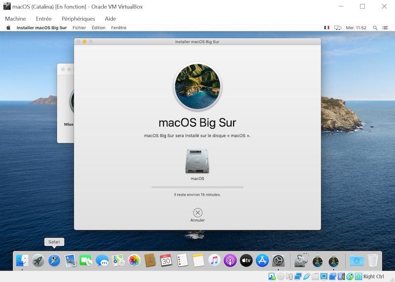 Big Sur-Installation - VirtualBox - macOS Big Sur auf Ihrem Windows-PC