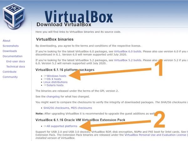 VirtualBox herunterladen 2021 - VirtualBox - macOS Big Sur auf Ihrem Windows-PC