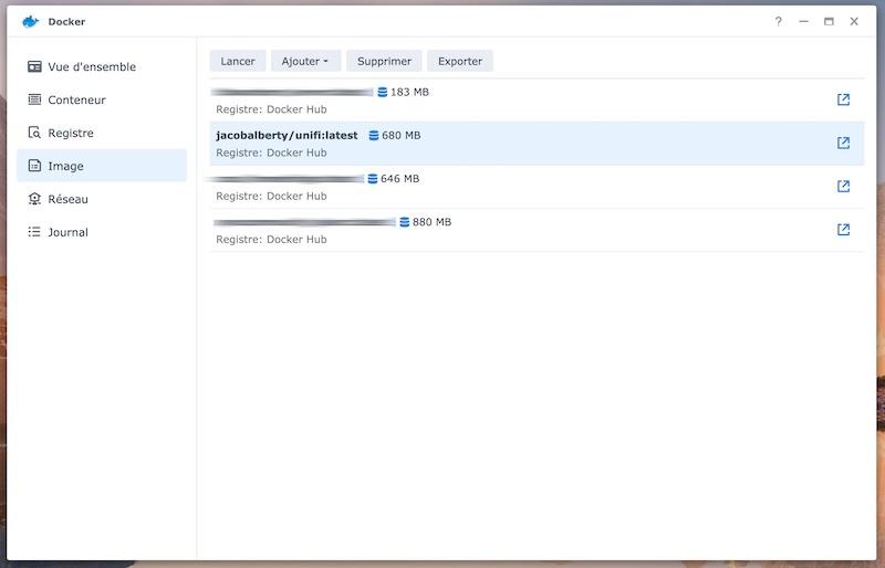 Docker-Image - UniFi Network Controller auf Synology NAS in 5 Minuten installieren