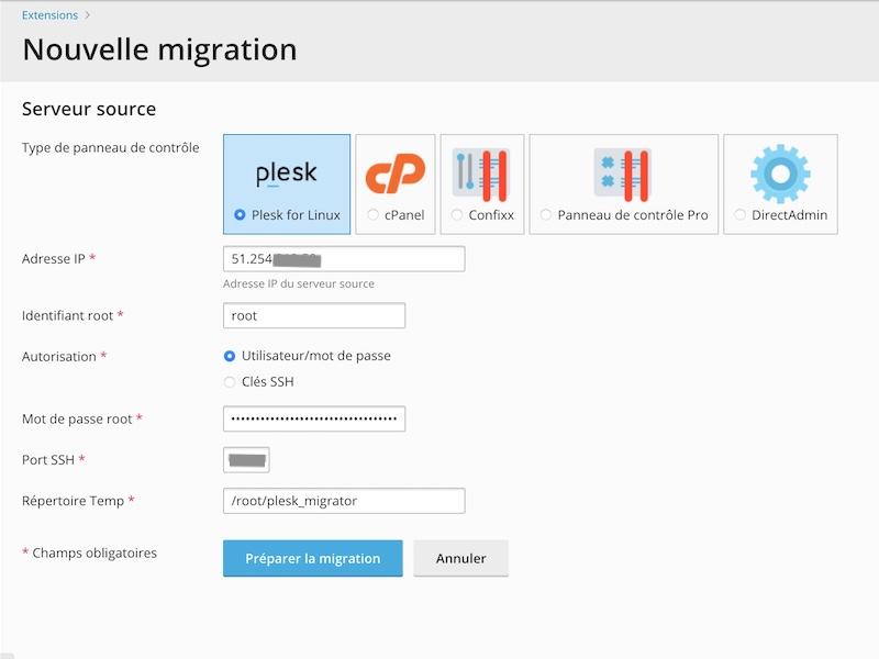 plesk migrator - Plesk - Server einfach migrieren
