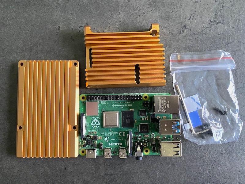pi4 Kühlkörper 2021 - Raspberry Pi 4: Gehäuse, Temperatur und WLAN