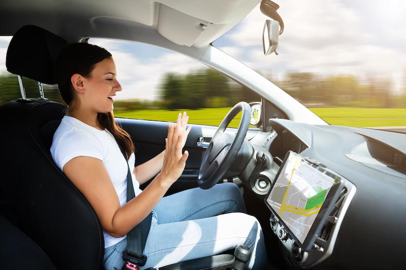 Freihandwagen - Autonomes Fahrzeug ... in Frankreich und anderswo