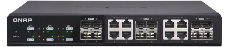 QNAP QSW 1208 8C - QNAP bringt 3 verwaltete Multi-Gig-Switches auf den Markt: QSW-M1204-4C, QSW-M1208-8C und QSW-M804-4C