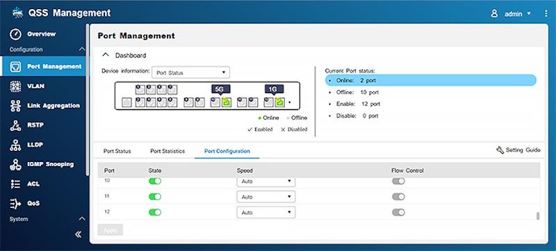 QNAP QSS 2020 - QNAP bringt 3 Multi-Gig Managed Switches auf den Markt: QSW-M1204-4C, QSW-M1208-8C und QSW-M804-4C