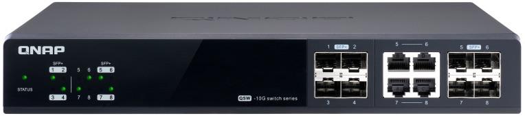 QNAP QSW M804 4C 2020 - QNAP bringt 3 verwaltete Multi-Gig-Switches auf den Markt: QSW-M1204-4C, QSW-M1208-8C und QSW-M804-4C