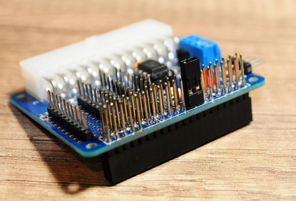 Rpi alim18 - Stromversorgung und Steuerung eines Raspberry Pi mit einem ATX-Netzteil