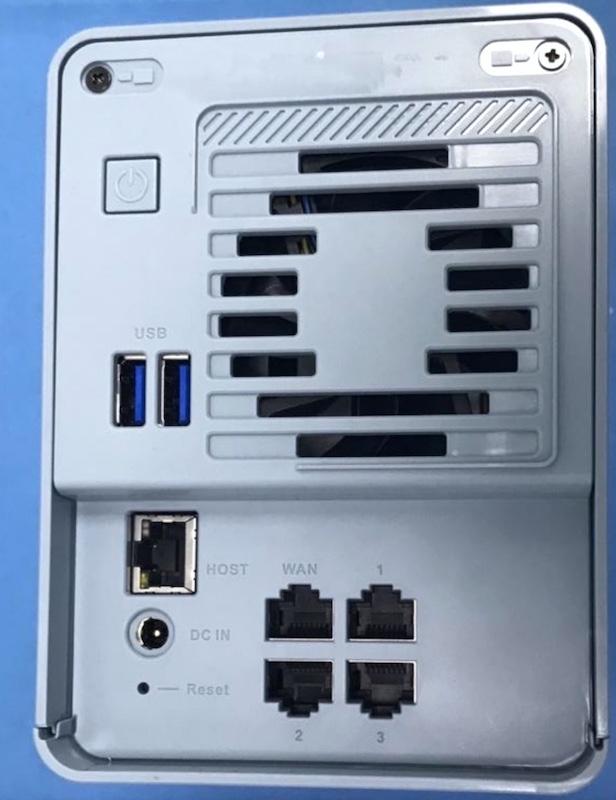 QNAP QMiroPlus 201W - QNAP QMiroPlus-201W: Mesh-Router und NAS