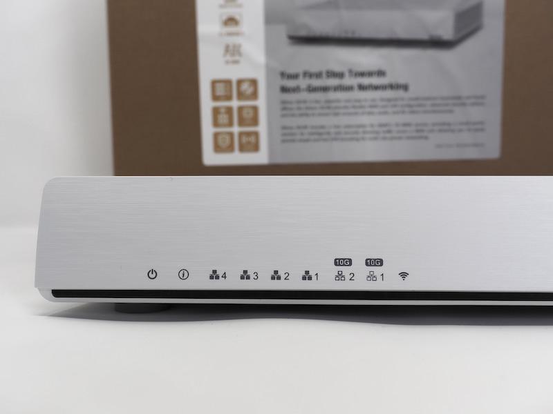QNAP 301W - QNAP QHora-301W im Test: Wi-Fi 6, 2 x 10 GbE-Ports, SD-WAN