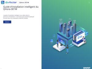 QuRouter Installationsanleitung 300x225 - QNAP QHora-301W Test: Wi-Fi 6, 2 Ports 10 GbE, SD-WAN