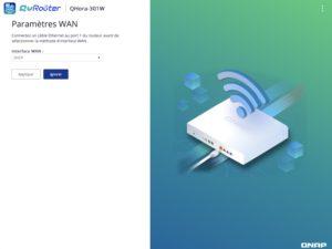 WAN-Parameter QRouter 300x225 - QNAP QHora-301W-Test: Wi-Fi 6, 2 Ports 10 GbE, SD-WAN