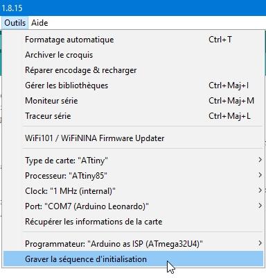 attiny85 23 - Erstellen Sie einen Programmierer für ATtiny 85