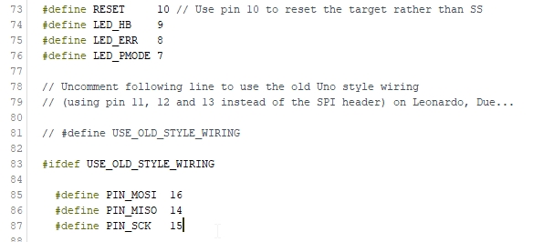 attiny85 8 - Erstellen Sie einen Programmierer für ATtiny 85