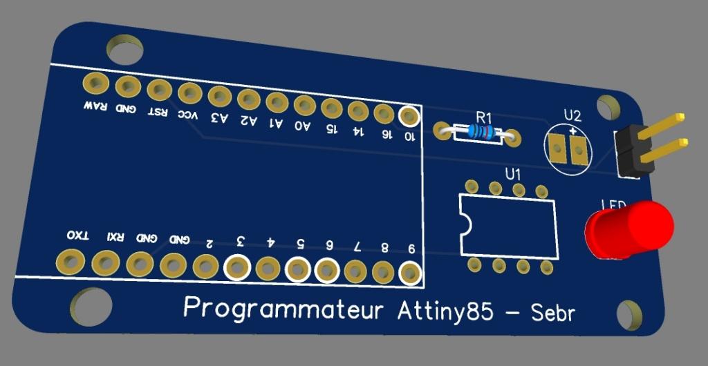 attiny85 28 - Erstellen Sie einen Programmierer für ATtiny 85