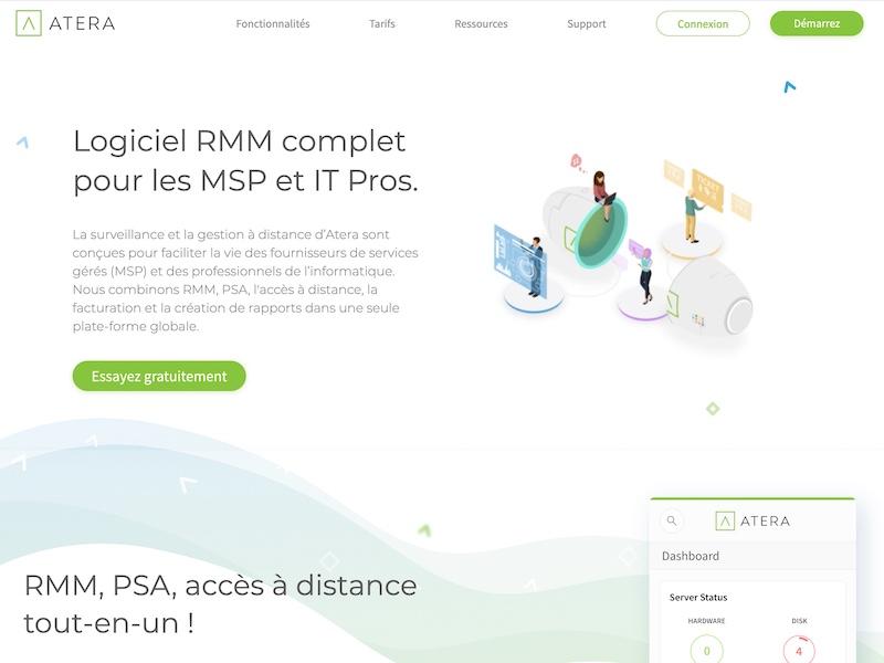 RMM ATERA 1 - Atera: einfache und kostengünstige RMM-Anwendung