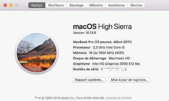 macOS High Sierra - Neues macOS auf einem alten Mac