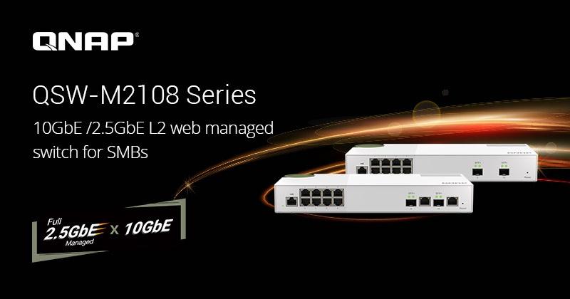QNAP QSW M2108 - QNAP bringt (wieder) neue Schalter QSW-M2108-2C und QSW-M2108-2S auf den Markt