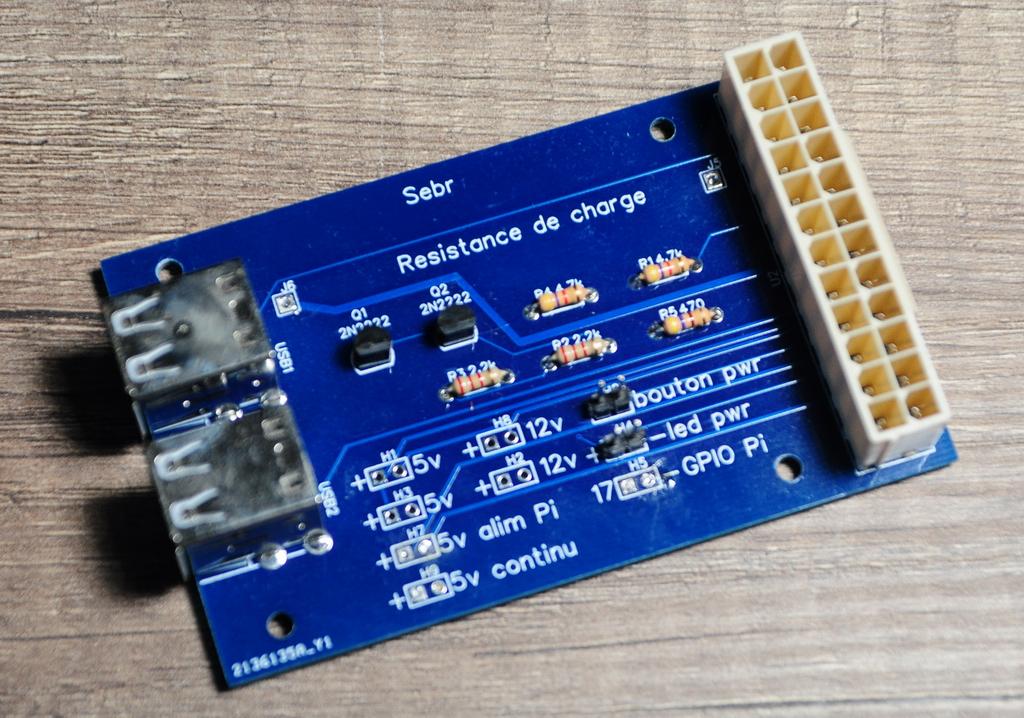 Rpi alim3 - Stromversorgung und Steuerung eines Raspberry Pi mit einem ATX-Netzteil